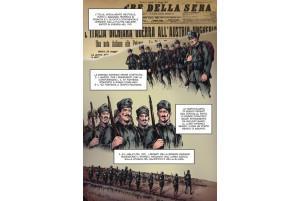 Dimonios_la leggenda della Brigata Sassari - di Bepi Vigna - illustrazioni di Gildo Atzori