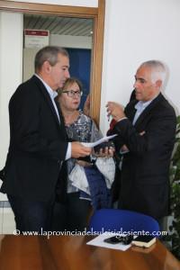 Giuseppe Casti, Maria Marongiu ed Emilio Gariazzo