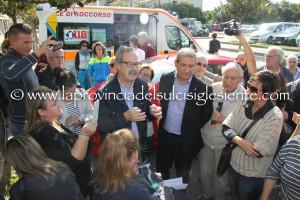 Non si ferma, nel Sulcis Iglesiente, la protesta dei familiari dei malati in ADI di III livello.