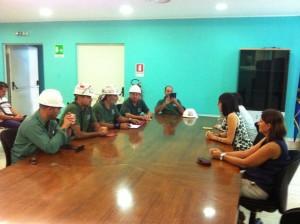 La società Eurallumina stamane s'è impegnata a comunicare al Savi in tempi brevi le due integrazioni richieste. Fiducia tra i lavoratori.