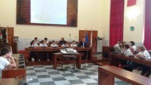 L'Amministrazione comunale di Carbonia ha ricevuto gli studenti reduci da Expo Milano 2015.