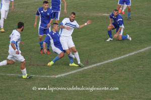 Monteponi e Carbonia procedono a braccetto, con l'Orrolese, in testa alla classifica del campionato di Promozione.