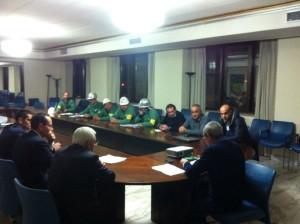 Firmato ieri l'accordo per la CIG per riorganizzazione aziendale per i 291 lavoratori Eurallumina per 36 mesi.