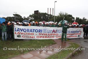 E' stato presentato questo pomeriggio, a Portoscuso, il progetto per il rilancio produttivo dell'Eurallumina.