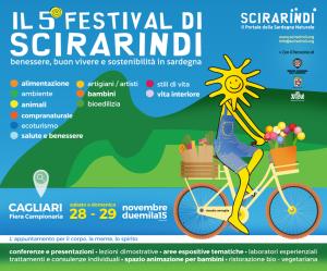 Il 28 e il 29 novembre alla Fiera Campionaria di Cagliari il festival Scirarindi.