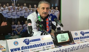 Nasce oggi a Mosca, contro i giganti del CSKA, la nuova Dinamo di Marco Calvani.