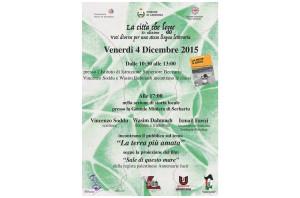 """E' in programma venerdì 4 dicembre, a Carbonia, l'incontro """"La terra più amata""""."""