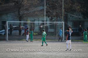 Goal del 2 a 1 di Marco Cullurgioni - Carbonia 2 a 1