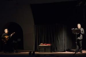 foto Priamo Tolu - spettacolo Soglie-coproduzione Is Mascareddas - Sardegna Teatro