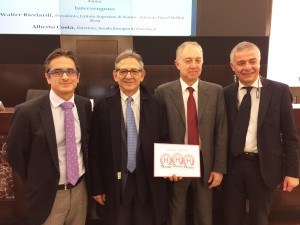 Riconoscimento del Governo per la Clinica di Ostetricia e Ginecologia dell'Azienda ospedaliero universitaria di Cagliari: menzione speciale e tre bollini rosa.