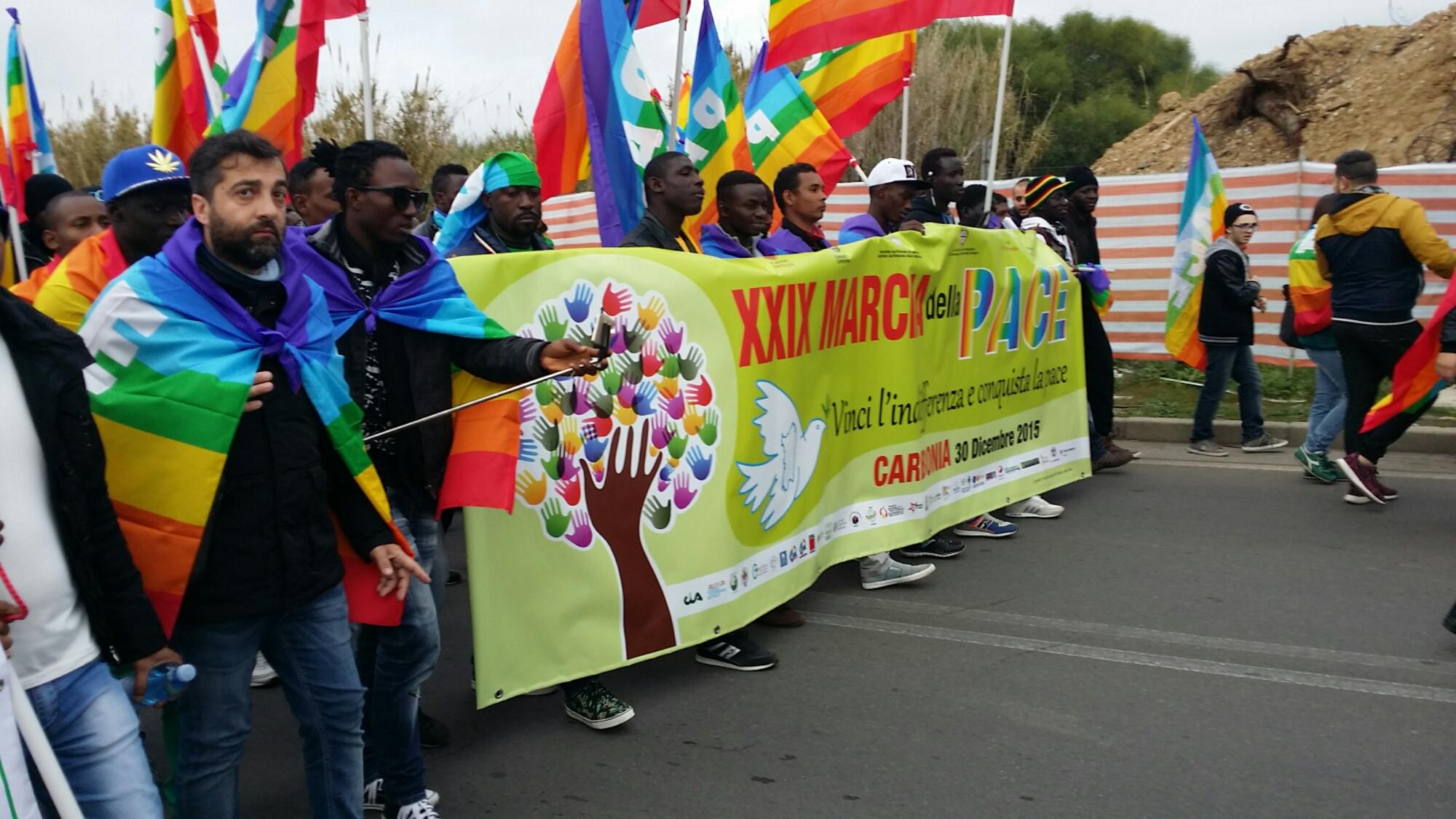 È iniziata a Carbonia la XXIX Marcia della Pace.