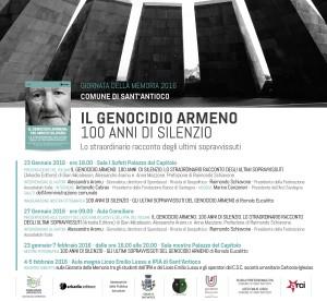 L'associazione culturale Il Calderone, a Sant'Antioco, ha promosso alcune iniziative in occasione della Giornata della Memoria 2016.