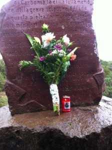 Il 14 febbraio di 78 anni fa il tragico incidente nel quale persero la vita cinque minatori a Serbariu.