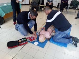 Il Rotary Club di Carbonia ha organizzato un corso per imparare a utilizzare il defibrillatore.