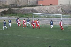 Il Carbonia chiude il primo tempo avanti 2 a 0 ma nella ripresa l'Orrolese lo raggiunge nell'andata della semifinale di Coppa Italia.