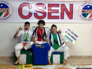 Brillanti risultati degli atleti di due società di Carbonia ai campionati nazionali di ju jitsu.
