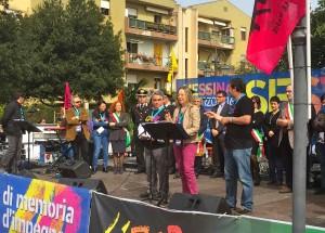 """In cinquemila a Sestu hanno celebrato la """"Giornata della memoria e dell'impegno in ricordo delle vittime delle mafie""""."""