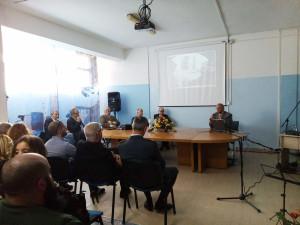 E' in corso all'ospedale Sirai di Carbonia, una manifestazione celebrativa per ricordare il dottor Gaetano Fiorentino, direttore dal 1946 al 1969.