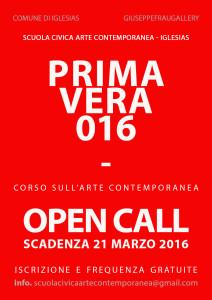 Nei prossimi giorni saranno on-line master class e nuovo bando della Scuola Civica d'Arte Contemporanea di Iglesias.