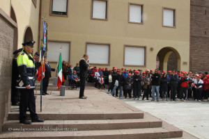 Si è svolta stamane, in Piazza Roma, a Carbonia, la cerimonia della festa della Liberazione.