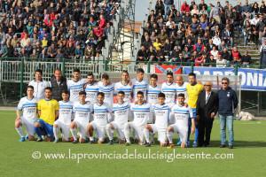 Il Carbonia finalista della Coppa Italia 2015/2016.