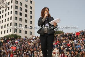 Un'ampia galleria fotografica sulla presentazione dei candidati del Movimento 5 Stelle alle prossime elezioni Amministrative di Carbonia.