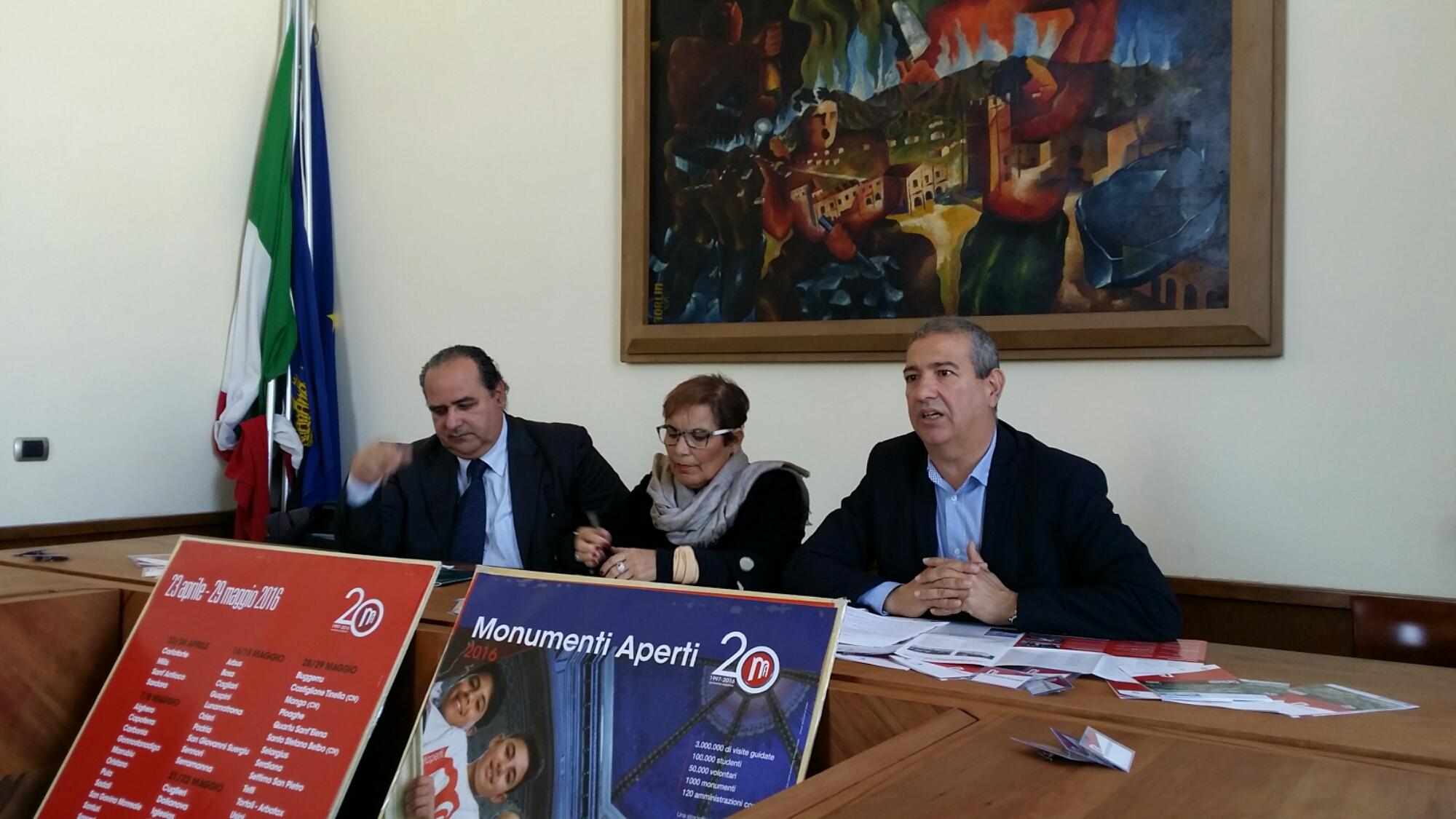 È in corso la presentazione di Monumenti Aperti 2016 a Carbonia.