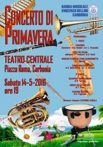 Concerto Banda Bellini a Carbonia