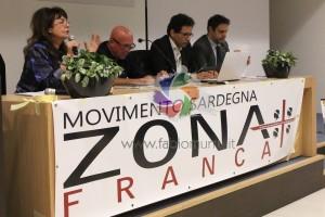 Grande partecipazione popolare giovedì sera, al Lù Hotel, al convegno organizzato dal Movimento Sardegna Zona Franca.