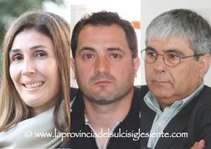 E' sfida a tre, a San Giovanni Suergiu, per l'elezione del nuovo sindaco, tra Elvira Usai, Antonio Fanni ed Erminio Meloni.