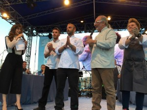 L'Italia è la prima finalista del Tuna Competition al Girotonno 2016, questa sera grande attesa per il concerto di Mario Biondi.