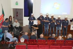 L'Anmil ha tenuto a Carbonia la 40ª tappa del Tour per la sicurezza sul lavoro.