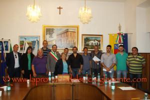 Si è insediato il Consiglio comunale di Narcao. Il sindaco Danilo Serra ha presentato la Giunta. Si è dimesso il consigliere Gianni Melis.