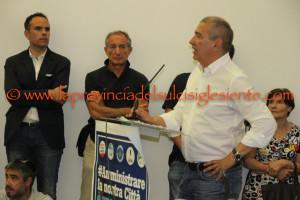 Il centrosinistra è mobilitato per la conferma di Giuseppe Casti nel ballottaggio del 19 giugno con Paola Massidda del Movimento 5 Stelle.