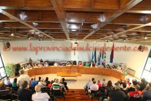 Si è insediato questo pomeriggio il nuovo Consiglio comunale di Domusnovas, eletto lo scorso 5 giugno.