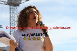Questo pomeriggio il Movimento 5 Stelle ha riempito per la seconda volta in 68 giorni l'anfiteatro di piazza Marmilla.