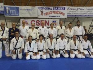 Sabato e domenica scorsi Carbonia ha ospitato uno stage regionale di ju jitsu con esami per 1° e 2° dan.