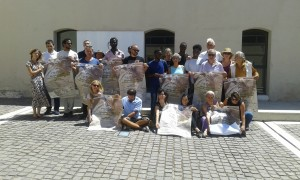 I partner, gli organizzatori e alcuni giovani coinvolti nel progetto