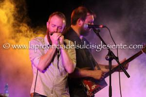 Le sonorità dell'armonica a bocca hanno caratterizzato ieri sera i due concerti della terza giornata del XXVI Festival Narcao Blues.