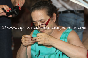 Maria Grazia Cucinotta difende il Museo del Bisso: «Tutelare la tradizione del maestro Chiara Vigo».