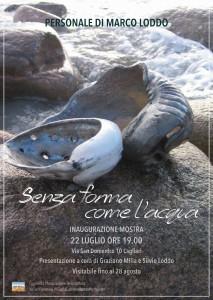L'Associazione Terra Battuta ha allestito, nella propria sede di Cagliari, nel quartiere di Villanova, una mostra di opere dell'artista sardo Marco Loddo.