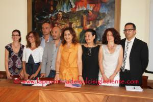 Il nuovo sindaco di Carbonia Paola Massidda ha presentato la sua Giunta. Alle 17.30 si insedia il nuovo Consiglio comunale.