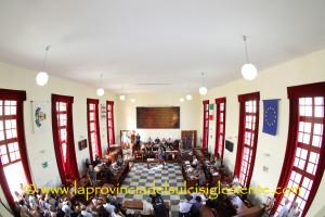 Si è insediato questo pomeriggio, nella sala polifunzionale di piazza Roma, il nuovo Consiglio comunale di Carbonia.