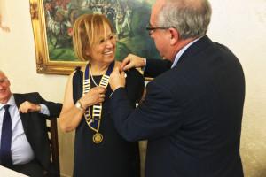 La dottoressa Lucia Amorino è il nuovo presidente del Rotary Club di Carbonia.