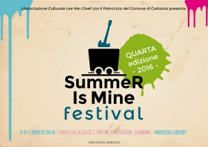 Martedì 2 agosto, in piazza Belvedere, a Masainas, è in programma l'anteprima del 4° Summer Is Mine Festival.