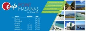 Il comune di Masainas, in collaborazione con la rete Visit Sulcis, ha dato vita al progetto di informazione turistica Infopoint Masainas.