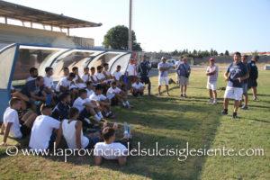 E' iniziata ieri la preparazione del Carbonia calcio in vista della nuova stagione 2016/2017.
