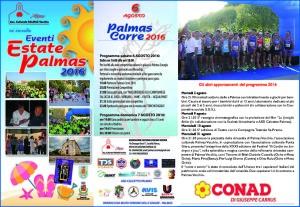 E' in programma questa sera, alle 19.00, a Palmas, la 5ª edizione di Palmas Corre.
