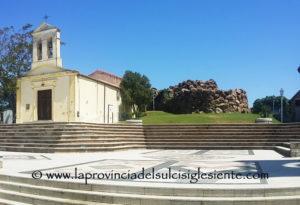 Piazza del Nuraghe Sant'Anna Arresi 1 copia