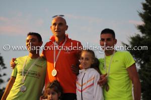 Massimiliano Nocco e Cinzia Meloni hanno vinto la 5ª Palmas Corre. Tutte le classifiche della gara competitiva e l'album fotografico completo.